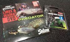 Fox Predator Treble Hook Sleeves - Small + FREE Fox Rage Predator DVD