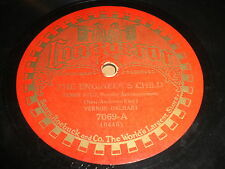 Vernon Dalhart: The Engineer's Child / Convict And The Rose 78 - Conqueror 7069