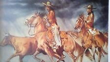"William Verdult ""The Roundup"" Limited Edition Lithograph, hand signed   w/COA"