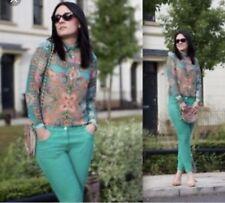 Zara Spring Paisley Floral Shirt