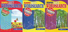 WORDSEARCH BOOK - LARGE PRINT -  3 BOOK SET - 312 PUZZLES - NEW - SET 109