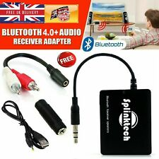Bluetooth Wireless Audio Receiver Adapter AUX Music Transmitter 3.5MM Stereo USB