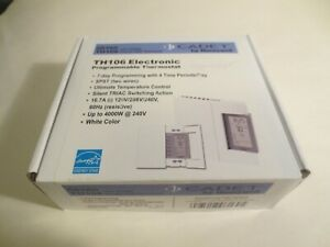 Cadet TH106 - 16.7 Amp 120/208/240-Volt Single-Pole Programmable Thermostat    D