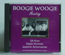 CD Ulli Kron Edwin KIMMLER Joachim Schumacher Boogie Woogie meeting Blues Bear
