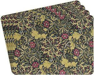 The Leonardo Collection William Morris Set Of 4 Heat Resistant Placemats #AZG