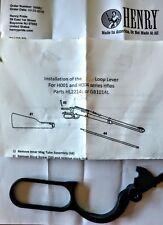 Henry, Model LA, 22 Mag 0r 17 HMR Caliber, Parts, Lever for H001 & H004 rifles