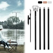 New listing Travel Lamp Pole Picnic Pole Portable Camping Folding Lamp High Quality