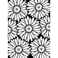 Darice Embossing Folder ~ BOLD DAISY ~ Flowers Floral NEW Just Out A2 1219-108