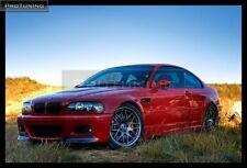 BMW E46 3 Serie M-Sport CSL M3 Front Bumper spoiler flaps elerons M Power tuning