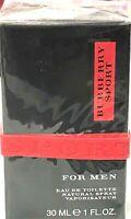 Burberry Sport by Burberry for men 1.0 oz / 30 ml eau de toilette spray