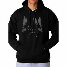 More details for star wars darth vader close up black hoodie sweater