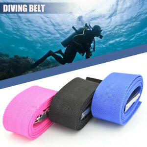 KEEP DIVING 1.3m/1.5m Plastic Diving Weight Belt with Stainless Steel Buckle