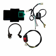 Wiring Loom Harness Kill Switch Ignition Coil CDI For 50cc-125cc GY6 Dirt Bike