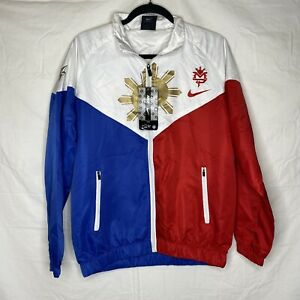 Nike Team Manny Pacquiao PacMan Boxing Warm Up Windbreaker Jacket Adult XL