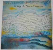 "Charlie Haden, Hampton Hawes - As Long As There's - original U.S. 12"" LP vinyl"