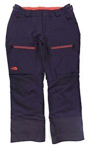 North Face Regular Powder Guide Gore-Tex Snowboard Ski Pants Womens Large Purple