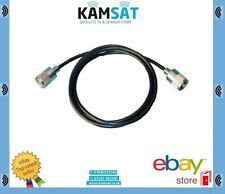 CB Radio Patch Lead Cable RG58 2m Soldered + Connector Pl259 CB