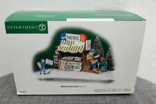 Dept 56 Christmas In The City Village Midtown Newsstand Accessory Figurines New!