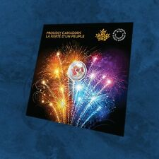 Kanada - Proudly Canadian - 5$ 2017 BU Silber - Glow in the dark Coincard