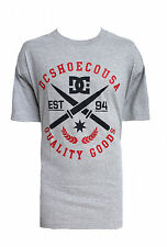 BRAND NEW DC SHOES MENS GUYS GRAPHIC T SHIRT TEE REGULAR FIT CREW TOP BLOUSE L