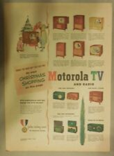 Motorola Ad: Motorola TV and Radio for Christmas! from 1950