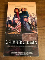 Grumpier Old Men VCR VHS Tape Movie Walter Matthau PG-13 Used