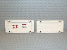 LEGO® Technic 2x 64782 Panel 5X11X1 Weiß White 5x11x1 42025 9398 F921