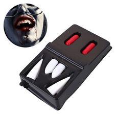 Halloween Vampire Fangs Teeth Dentures Kids Cosplay Costume Prop Accessory