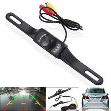 Car Rear View Backup Camera Parking Reverse Back Up Camera Waterproof CMOS 7LED