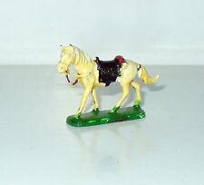 ANCIENNE FIGURINE CHEVAL BLANC WHITE HORSE (2,5x3,5cm)