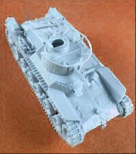 Milicast BJ11 1/76 Resin WWII Japanese Type97 Tank
