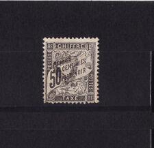 timbre France TAXE   Duval   50c  noir     num: 20   oblitéré