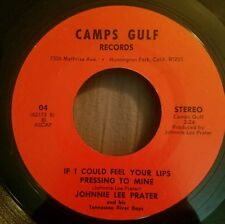 Johnnie Lee Prater 45 Wildcat Still / If I Could Feel Your Lips Pressing to Mine