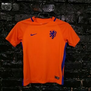 Memphis Netherlands Jersey Home shirt 2016-2017 Nike 724704-815 Size Young M