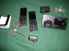 Panasonic KX-PRW130 DECT 6.0 Cordless Phone, Smartphone Connect With Slimbase