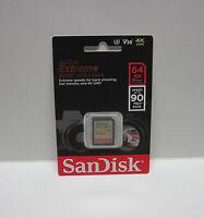 Sandisk 64G extreme U1 DX 4K D3500 HD SD card for Nikon D3400 D3300 D3200 D3100