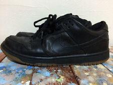 Nike Sb Dunk Low Pro Ostrich Size 10 Black/Black
