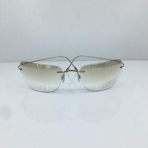 New Authentic Silhouette Titan 8583 Mirrored Sunglasses M. 8583 C. 6084 Austria