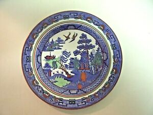 Wedgwood Blue Willow Multicolor Plate