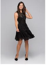 Beautiful Cocktail Thurley Asteroid Black Night Dress RRP- $1250