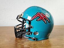 """XFL, Memphis Maniax Mini Football Helmet, 5"""" Tall, Bike."""
