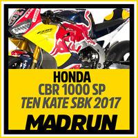 Kit Adesivi Honda CBR SBK Ten Kate 2017 - High Quality Decals