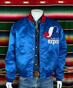 Vintage 90´S Expo satin Starter jacket made in USA Size: XL