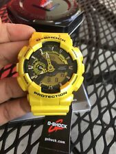 Casio G-Shock Men's GA110NM-9A Watch Metallic Yellow