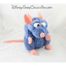 Peluche Rémy rat DISNEYLAND PARIS Ratatouille Disney bleu 25 cm (F2126)