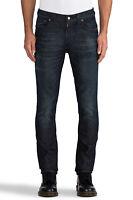 Nudie Unisex Herren Damen Skinny Fit Jeans | Tape Ted Nightcrawler|w27, w29