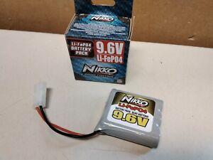 NIKKO Li-FePO4 Akku 9,6V Battery Pack Akkupack 9.6V LiPO Ersatzakku