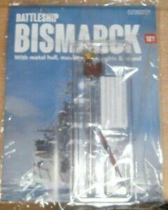 Hachette Build the Battleship Bismarck Scale 1:200 Part 121