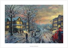 Thomas Kinkade A Christmas Story 12 x 18 S/N Limited Edition Paper