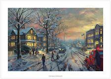 Thomas Kinkade A CHRISTMAS STORY – 12x18 S/N Limited Edition Paper